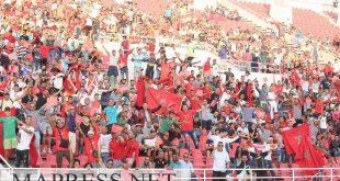 صور خاصة بالجمهور… مقابلة المنتخب المغربي