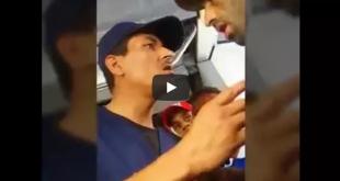 """بالفيديو… شعب حكار شاهد ماذا فعل """"كونطرول أطوبيس"""" مع طفل صغير"""