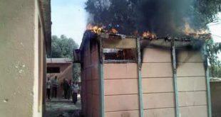 حريق مهول يأتي على مجموعة من الأقسام بمؤسسة تعليمية نواحي برشيد وهذه التفاصيل