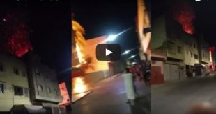 حريق مهول يلتهم أحد المنازل بتفيلت