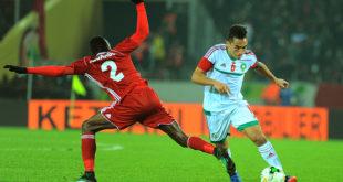 صور… المنتخب المغربي يضمن الصدارة بعد تعادله مع المنتخب السوداني