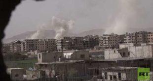 الجيش السوري يسيطر على وادي عين ترما