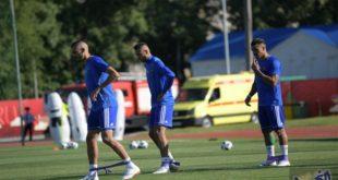 المنتخب المغربي يعود إلى التدريبيات باستثناء لمرابط