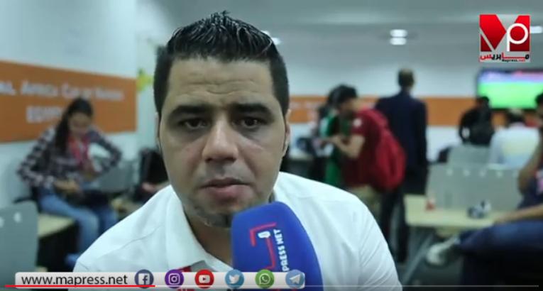 نوفل عواملة خرج طول وعرض في المنتخب المغربي بعد الإقصاء
